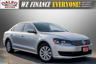 Used 2013 Volkswagen Passat TRENDLINE / CLEAN CAR / for sale in Hamilton, ON