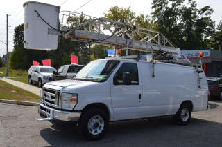Used 2014 Ford Econoline E -350 EXTENDED BUCKET TRUCK for sale in Richmond Hill, ON