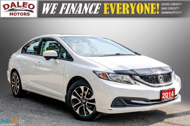 2014 Honda Civic EX / BACK UP CAM / POWER MOONROOF / HEATED SEATS /
