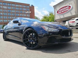 Used 2014 Maserati Ghibli NAVI | CAM | ROOF| AWD |SHIPPING ONLY |LOTS OF MODIFICATION for sale in Scarborough, ON