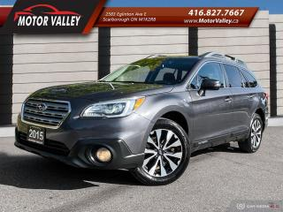 Used 2015 Subaru Outback 3.6R w/Limited Pkg. Navigation - B.up Cam Mint! for sale in Scarborough, ON