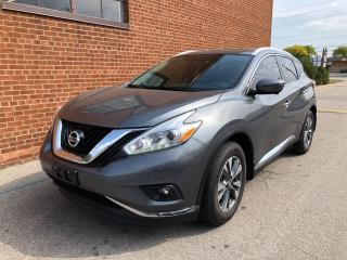 Used 2017 Nissan Murano SL/AWD/NAVIGATION /LEATHER for sale in Oakville, ON
