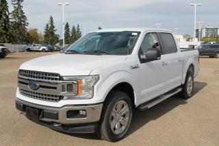 New 2020 Ford F-150 Supercrew XLT | XTR 302a Pkg | 3.5L Ecoboost | MAX Trariler Tow Pkg | Hetaed Cloth Seats for sale in Edmonton, AB