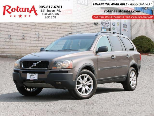 2005 Volvo XC90 AWD_7 Seats_Leather_Sunroof_Low KMs