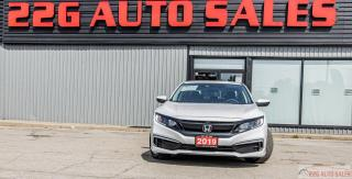 Used 2019 Honda Civic LX|ACCIDENT FREE|BACKUP CAM|BLUETOOTH for sale in Brampton, ON