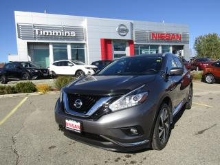 Used 2018 Nissan Murano Platinum for sale in Timmins, ON