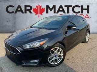 Used 2015 Ford Focus SE / NO ACCIDENTS / 36120 KM for sale in Cambridge, ON