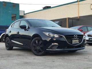 Used 2015 Mazda MAZDA3 HB|Sport|Manual|Push Start|Bluetooth|Certified| for sale in Burlington, ON