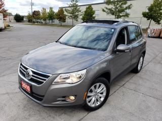 Used 2010 Volkswagen Tiguan 4 Motion, Low KM, 3/Y Warranty available for sale in Toronto, ON