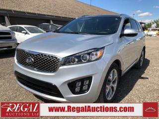 Used 2017 Kia Sorento SX Turbo 4D UTILITY AT for sale in Calgary, AB