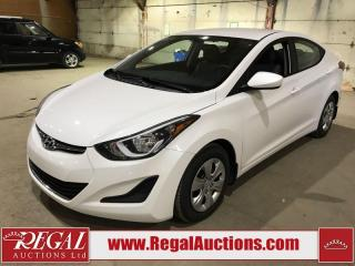 Used 2016 Hyundai Elantra 4D Sedan for sale in Calgary, AB