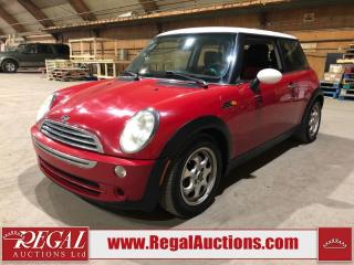 Used 2005 MINI Cooper 2D Hatchback for sale in Calgary, AB