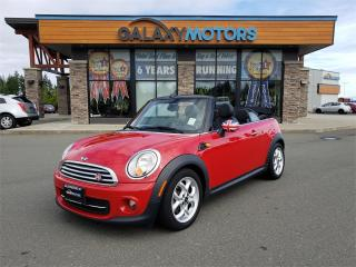 Used 2013 MINI Cooper Convertible - Leather Interior, Heated Front Seats, Bluetooth for sale in Nanaimo, BC