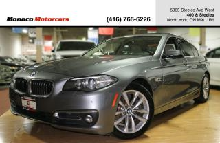 Used 2016 BMW 5 Series 528i xDrive - NAVI|BACKUP|SUNROOF|HEATED SEATS for sale in North York, ON