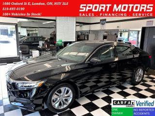 Used 2020 Honda Accord LX 1.5T+Remote Start+Apple Play+ACCIDENT FREE for sale in London, ON