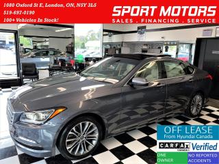 Used 2016 Hyundai Genesis Luxury+Cooled Seats+Apple Play+Roof+ACCIDENT FREE for sale in London, ON