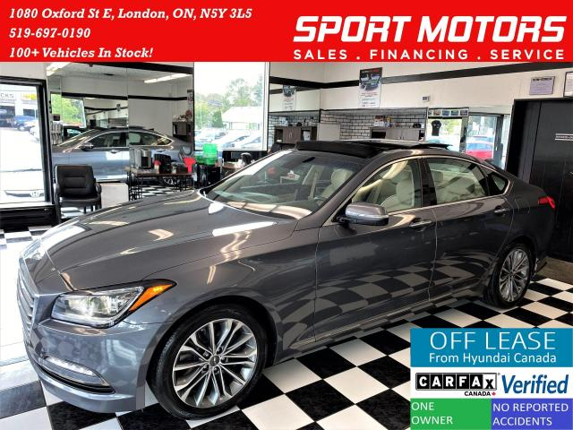 2016 Hyundai Genesis Luxury+Cooled Seats+Apple Play+Roof+ACCIDENT FREE