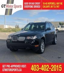 Used 2008 BMW X3 3.0si AWD | $0 DOWN - EVERYONE APPROVED! for sale in Calgary, AB