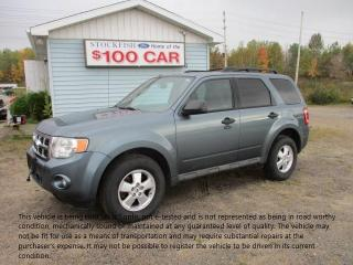 Used 2012 Ford Escape XLT for sale in North Bay, ON