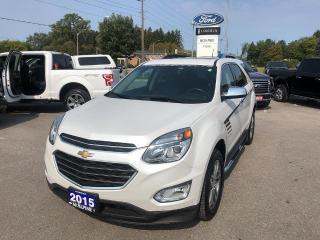 Used 2017 Chevrolet Equinox Premier for sale in Aurora, ON