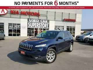 Used 2016 Jeep Cherokee North, AWD, Heated Seats, Remote Starter, Power LI for sale in Niagara Falls, ON