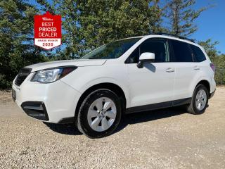 Used 2017 Subaru Forester *STARLINK - REAR CAMERA - HEATED SEATS* for sale in Winnipeg, MB