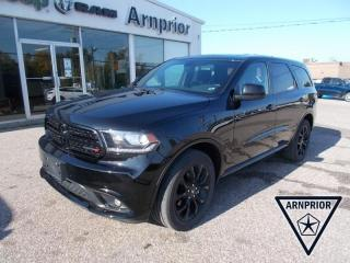 Used 2020 Dodge Durango SXT for sale in Arnprior, ON