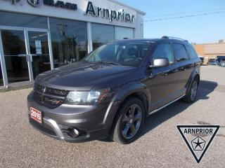 Used 2015 Dodge Journey Crossroad for sale in Arnprior, ON