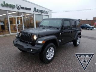 New 2021 Jeep Wrangler Unlimited Sport S for sale in Arnprior, ON