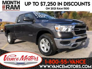 New 2021 RAM 1500 SXT 4X4...HTD SEATS*REMOTE START*V6! for sale in Bancroft, ON