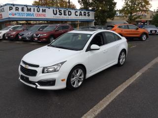 Used 2016 Chevrolet Cruze Limited LT for sale in Ottawa, ON