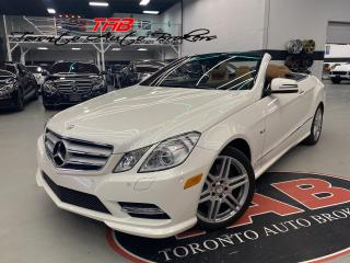 Used 2012 Mercedes-Benz E-Class E350 AMG I CONVERTIBLE I NAVI I COMING SOON for sale in Vaughan, ON