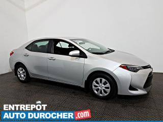 Used 2017 Toyota Corolla Automatique - AIR CLIMATISÉ - Groupe Électrique for sale in Laval, QC