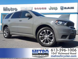 Used 2019 Dodge Durango GT AWD LOADED for sale in Ottawa, ON