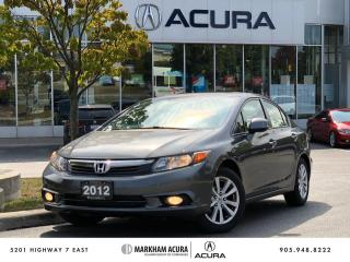 Used 2012 Honda Civic Sedan EX at for sale in Markham, ON