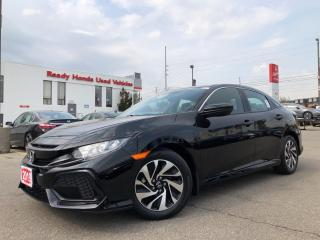 Used 2019 Honda Civic Hatchback LX  - Bluetooth - Rear camera - Heated Seats for sale in Mississauga, ON