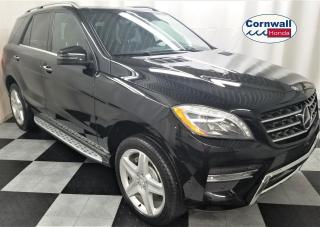 Used 2015 Mercedes-Benz ML-Class 4MATIC® for sale in Cornwall, ON