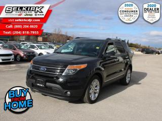 Used 2014 Ford Explorer Limited - Leather Seats -  Bluetooth for sale in Selkirk, MB