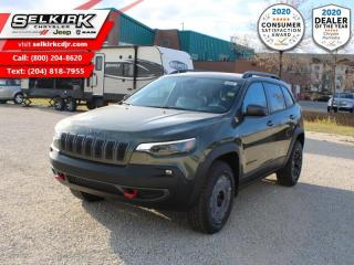 New 2021 Jeep Cherokee Trailhawk for sale in Selkirk, MB