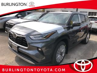 New 2021 Toyota Highlander Platinum AWD (Natl) for sale in Burlington, ON