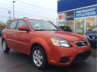 Used 2011 Kia Rio EX - Local Trade - No Charge Winter Tires for sale in Cornwall, ON