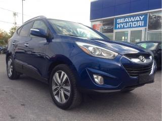 Used 2014 Hyundai Tucson AWD 4dr Auto Limited - Local Trade - Low KM's! for sale in Cornwall, ON