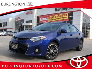 Used 2016 Toyota Corolla S for sale in Burlington, ON