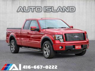 Used 2012 Ford F-150 FX4**4X4**SUPERCAB**LONG BOX for sale in North York, ON
