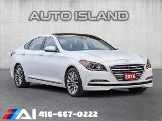 Used 2016 Hyundai Genesis ALL WHEEL DRIVE**NAVIGATION**PANORAMIC SUNROOF for sale in North York, ON