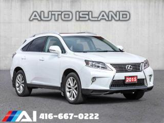 Used 2015 Lexus RX 350 BROWN LEATHER**SUNROOF*NAVIGATION** for sale in North York, ON