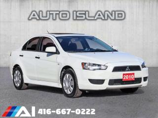 Used 2010 Mitsubishi Lancer for sale in North York, ON