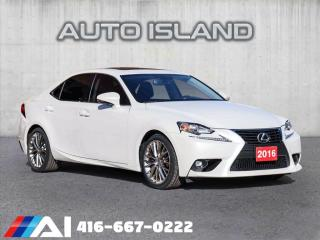 Used 2016 Lexus IS 300 ALL WHEEL DRIVE**LEATHER**BACK UP CAMERA**LIKE NEW!! for sale in North York, ON