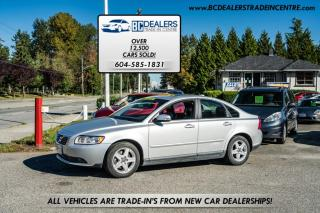 Used 2010 Volvo S40 2.4L Premium, Only 83,000 kms, Local, Service History, Clean for sale in Surrey, BC