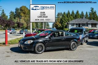 Used 2007 Pontiac G5 Coupe GT, Local, No Accidents, Leather, Sunroof, CLEAN!! for sale in Surrey, BC